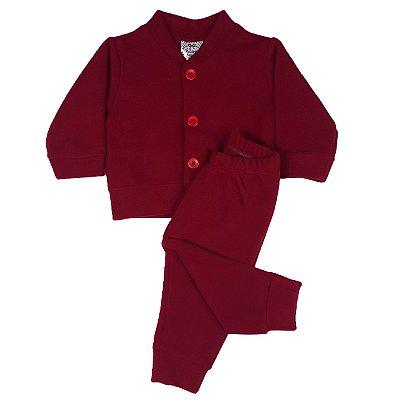 Conjunto Bebê Soft Casaco + Calça