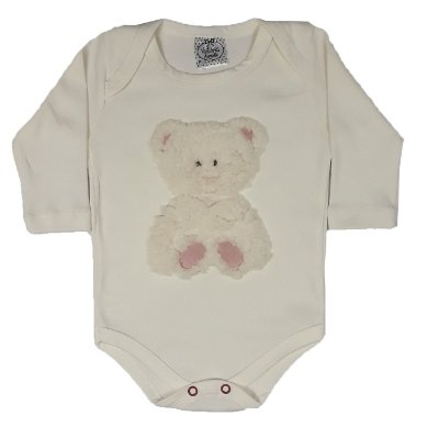 Body Bebê Urso