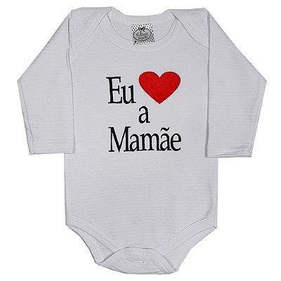 Body Bebê Amo A Mamãe