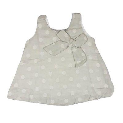 Vestido Bebê Tecido Bola