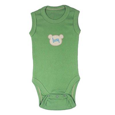 Body Bebê Boy Verde