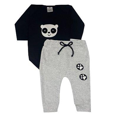 Conjunto Bebê Panda