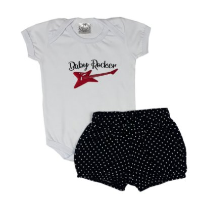 Conjunto Bebê Baby Rocker