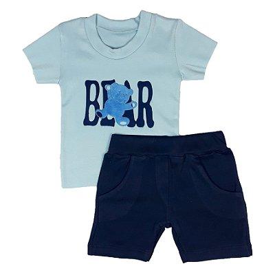 Conjunto Bebê Bear Azul