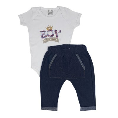 Conjunto Bebê Boy Jeans