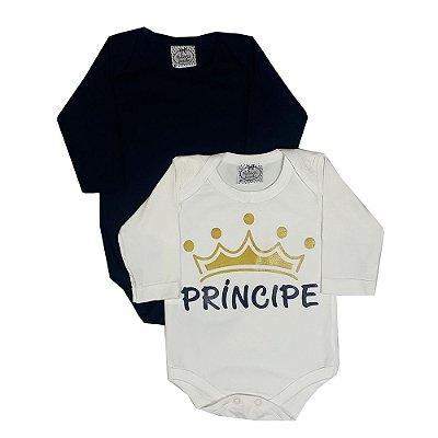 Kit Bebê Body Príncipe