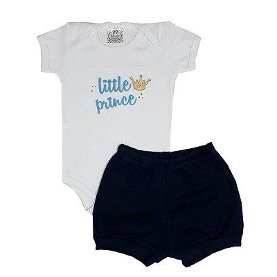 Conjunto Bebê Little Prince Azul