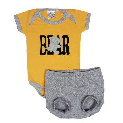 Conjunto Bebê Bear + Shorts Bola