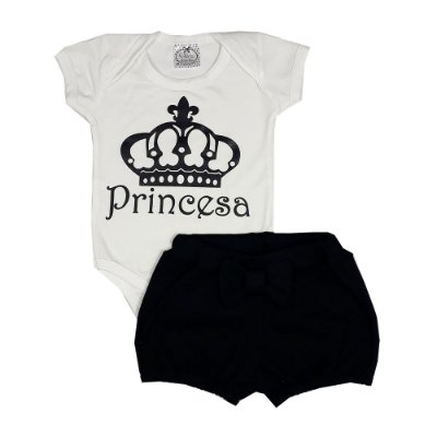 Conjunto Bebê Princesa
