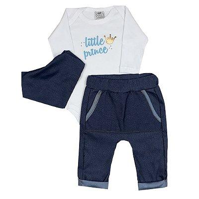 Conjunto Bebê Little Prince Jeans