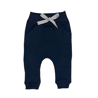 Calça Bebê Ribana Azul Marinho