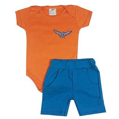 Conjunto Bebê Avião