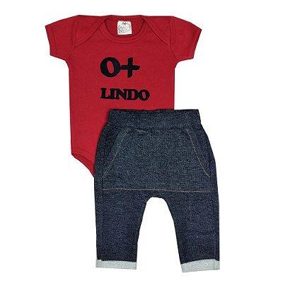 Conjunto Bebê O + Lindo Jeans