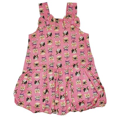 Vestido Infantil Gatinha