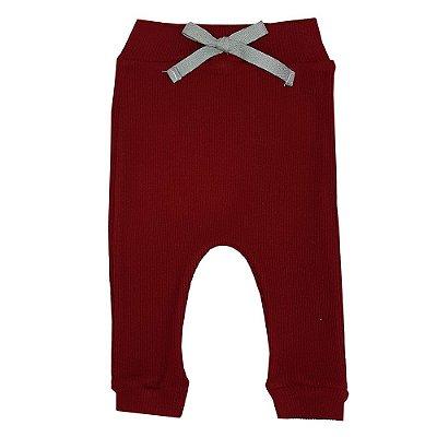 Calça Bebê Ribana Vermelha