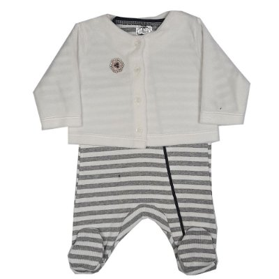 Macacão Bebê Com Casaco De Plush