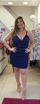 Vestido Plus size com lycra