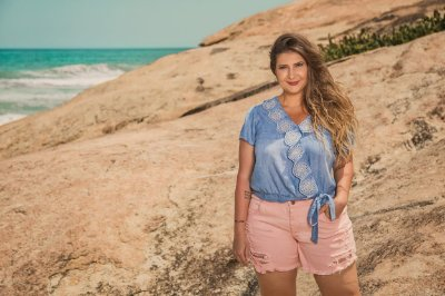 66c8eaece4 Shorts e Saias Plus Size