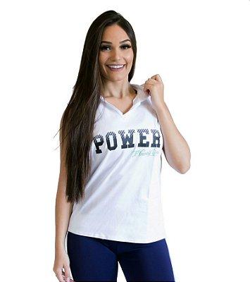 Colete feminino - Power - Branco