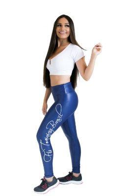 Calça Legging - Forever - Azul Marinho