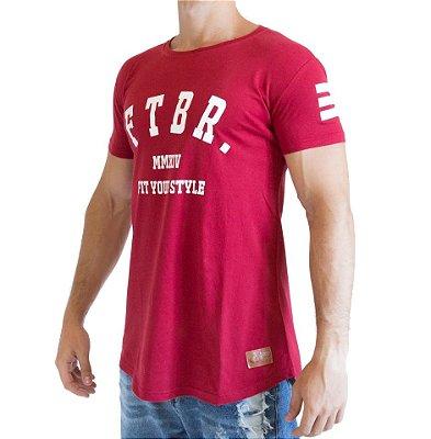 Camiseta Longline - FTBR - Vermelha