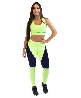Calça Legging - Power Girl - Verde