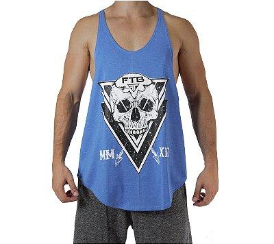 Regata de Treino - Skull - Azul Mescla