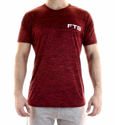 Camiseta de treino - FTB - Red Black