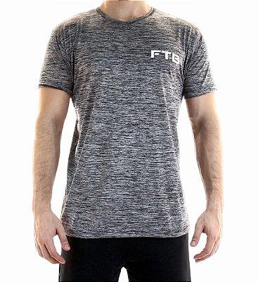 Camiseta de treino - FTB - Preto mescla