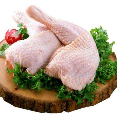 Coxa com sobrecoxa de frango - bandeja 500 gr