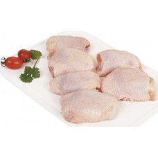 Sobrecoxa de frango - bandeja 500 gr