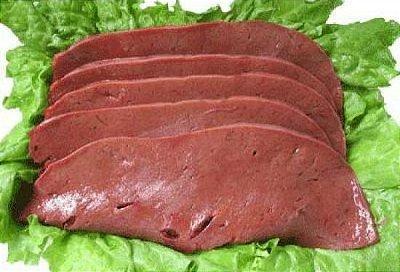 Fígado de boi fatiado - bandeja 500 gr