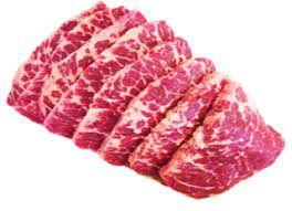 Cupim bovino fatiado - bandeja 500 gr