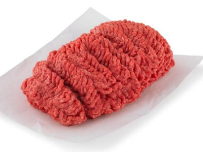 Carne moída de primeira extra limpa - bandeja 500 gr