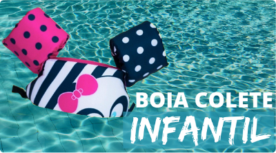 Mini Banner Boia Colete Infantil