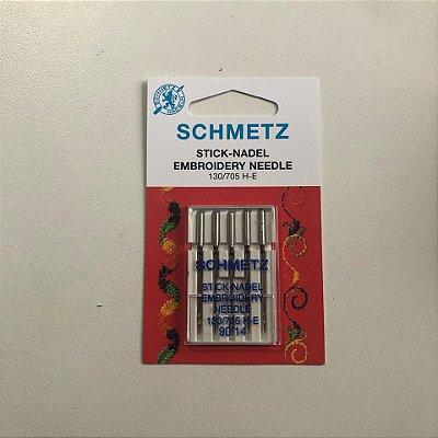 Agulha 14 Bordadeira - Schmetz
