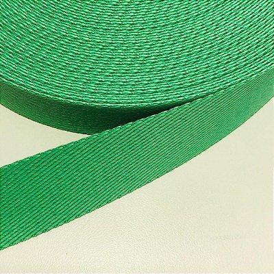 Alça de Poliéster 3cm Verde Jade