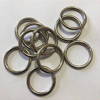 Argola Prata 3cm (pct 10)