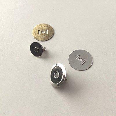 Botão de Imã Chato 19.5mm (5 unidades)