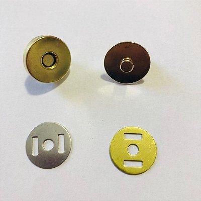 Botão de Imã Dourado Grande (5 unidades)