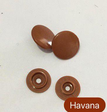 Botão de Pressão n° 12 Havana (pct 10)