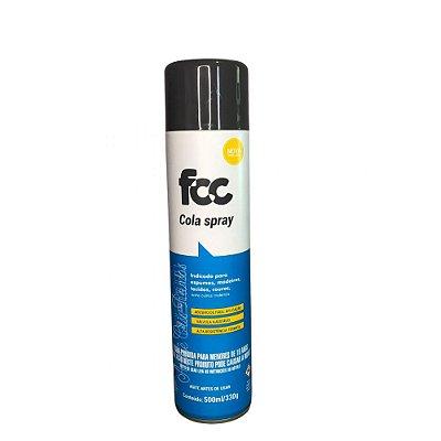 Cola de Contato Spray FCC Sem Tolueno - 500ml
