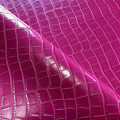 Croco PU Pink