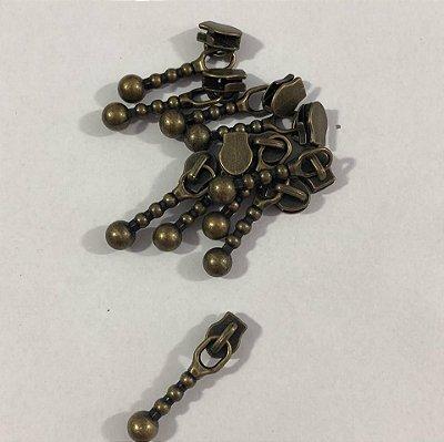 Cursor 3mm Bolinha Ouro Velho (5 unid)