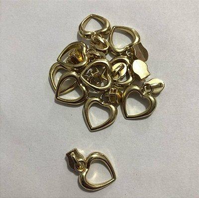 Cursor 3mm Coração Dourado (5 unid)