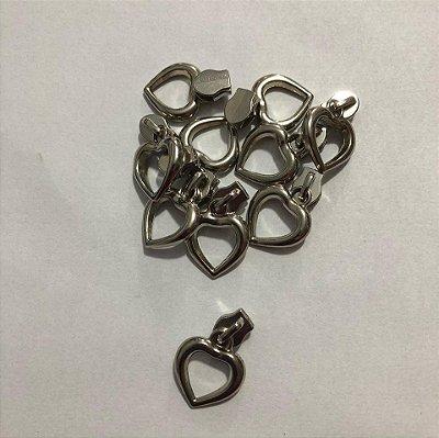 Cursor 3mm Coração Prata (5 unid)