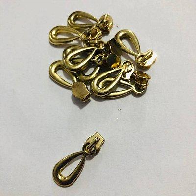 Cursor 3mm Gota Dourada (5 unid)