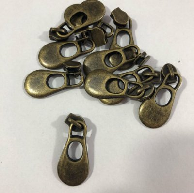 Cursor 3mm Gota Grande Ouro Velho (5 unid)