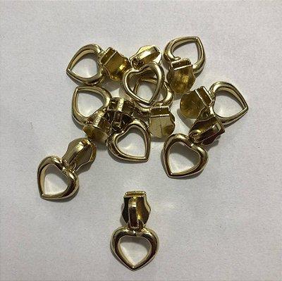 Cursor 5mm Coração Dourado (5 unid)