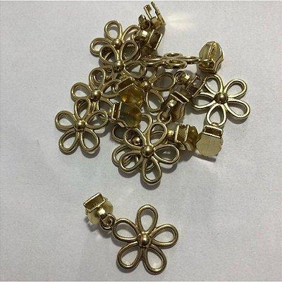 Cursor 5mm Florzinha Dourada (5 unid)